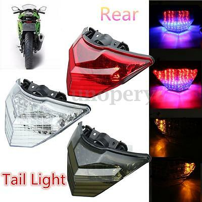 Tail Light Turn Signals Integrated LED Light For 13-15 KAWASAKI Ninja 250 300