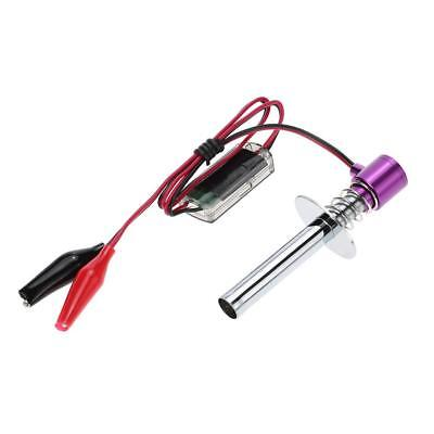 RC 80100 Electronic Glow Plug Igniter Ignition Cable Clip For Nitro Car Boat