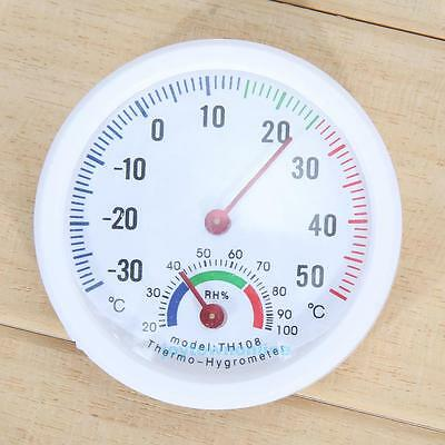 Mini Indoor Analog Hygrometer Humidity Thermometer Temperature Meter -30~50°C