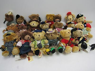 Large Job Lot of 79 Teddy Bear Collection Bears with Tags - BRI S18