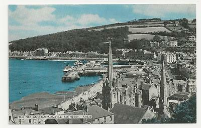 E T W Dennis, The Pier and Canada Hill, Rothesay R.0528