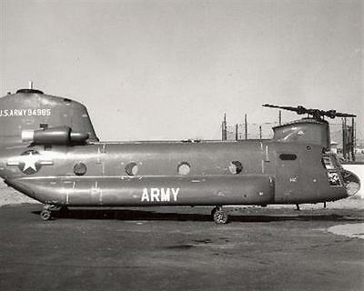1950s MR US Army YHC-1B Chinook Helicopter Test Bed 94985 8x10 Photo #2