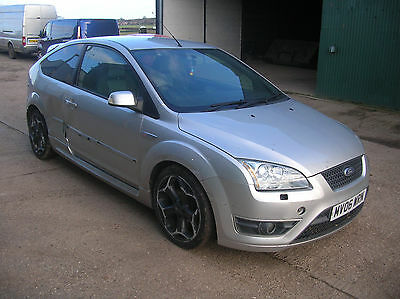 Focus ST ST2 ST225 silver 3 door damaged salvage, UNRECORDED