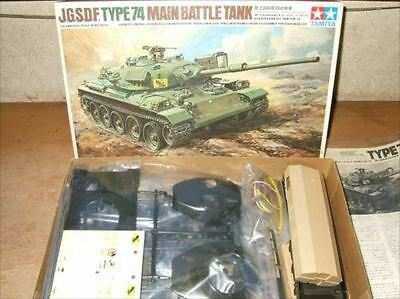 1/35 electric remote control JGSDF TYPE 74 main battle tank Vintage Figure[71]