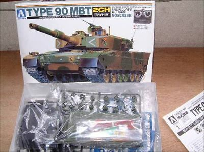1/48 electric remote control Type 90 MBT tank Vintage Figure[71]