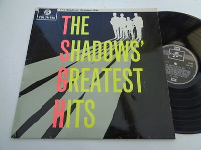 the shadows  greatest  hits  album  on  columbia  records 1960s reissue