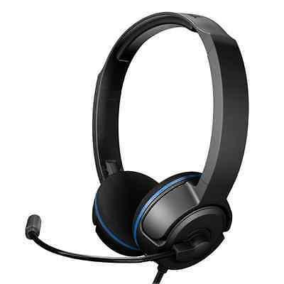 Turtle Beach Pla Wired Gaming Headset & Mic For Ps4/pc/mac/ps3 Black Tbs-3006-01