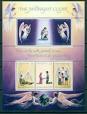 Christmas 1980  CHRISTMAS ISLAND   postfr. Block   Luxus wie gescant