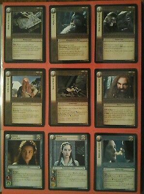 Decipher The Lord Of The Rings Trading Cards - 3 Realms Of The Elf Lords
