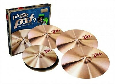 """Paiste PST7 Special Edition Cymbal Box Set With Extra 18"""" Crash PST7UNI316"""