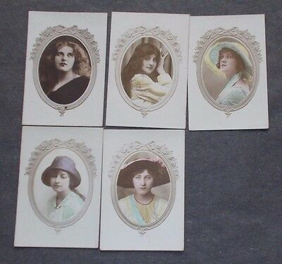 cigarette cards WILLS BRITISH BEAUTIES OVERSEAS LOT A