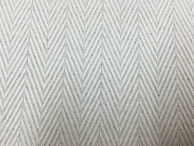 Kings Herringbone  Oatmeal Linen & Bamboo  Curtain/Craft/Upholstery Fabric