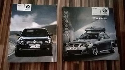 Bmw 5 Series E60 Saloon & E61 Touring Owners Manual - Guide - Handbook Accessori