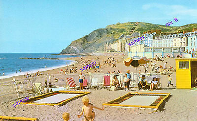 Wales Aberystwyth Beach and Trampolines Have a Bouncy Beach Party=Not Posted