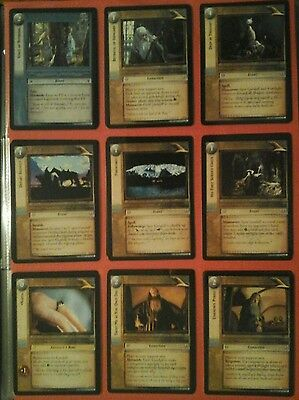 Decipher The Lord Of The Rings Trading Cards 3 Realms Of The Elf Lords