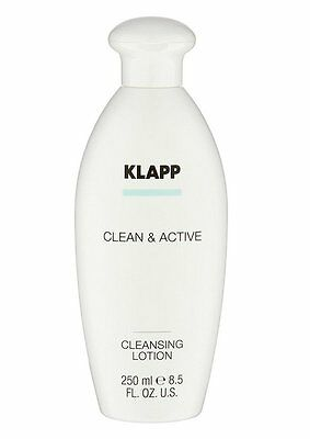 KLAPP Clean & Active Cleansing Lotion Lait Démaquillant 250ml