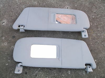Vauxhall Meriva A Mk1 Sun Visors With Mirror & Mountings 2003-2010 Pair Of