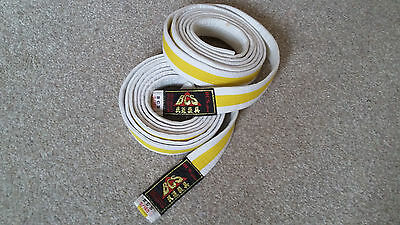 2 Bcs Yellow Belts