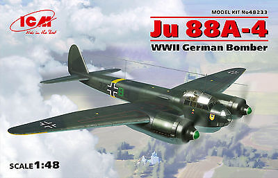 ICM 48233 WWII German Bomber Ju88A-4 in 1:48