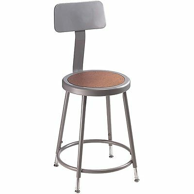 NPS 18-inch Adjustable Height Stool with Backrest Brand New!