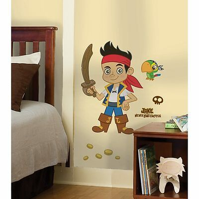 RoomMates Jake and the Neverland Pirates Peel and Stick Giant Wall Decal New