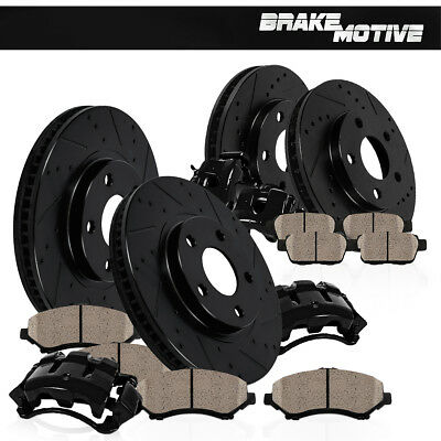 Front and Rear Brake Calipers & Rotors & Pads 2000 - 2004 EXCURSION F250 F350