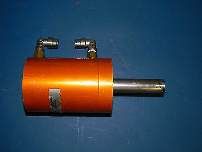 "Fabco-Air Pneumatic Cylinder 3""inch Stroke 2""inch Bore Pancake Line"