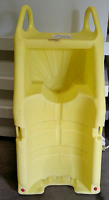 ENPAC Indoor Drum Dispensing Dolly, Yellow, 80 Gal 5300-YE-A