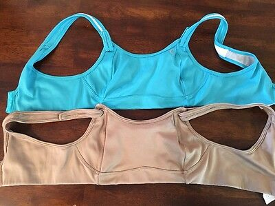 MOVING COMFORT Size 34B Women's FIONA Sports Bras Lot Athletic Workout