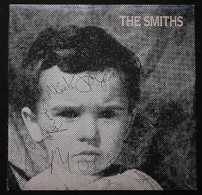 "RT 186 The Smiths, That Joke Isn't... Signed, Autographed 7"" Single Vinyl Record"