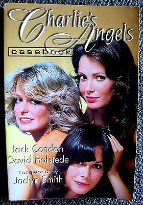 CHARLIE'S ANGELS Casebook SIGNED by AUTHOR Jack Condon FARRAH Jaclyn Smith BOOK