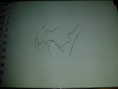 Bill Turnbull Think Tank presenter HAND SIGNED page
