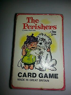 The perishers card game boxed