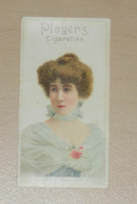 cigarette cards PLAYERS GALLERY OF BEAUTY SERIES 1896 No.35