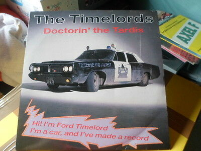 """""""12"""" Release Of The Timelords  Doctorin'  The Tardis"""