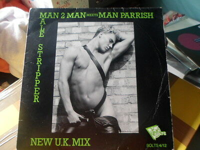 """""""12"""" Release Of Man 2 Man's  """"the Male Stripper""""  Very Rare"""