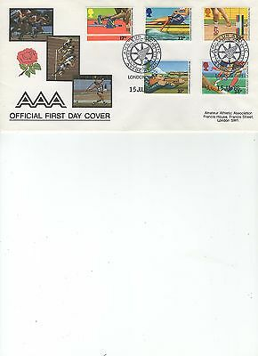 1986  Commonwealth Games - Amateur Athletics Association - Official Cover