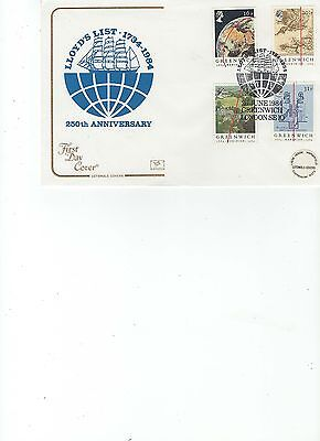 1984  Greenwich - Lloyd's List - Greenwich - Cotswold Official Cover