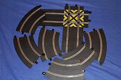 Scalextric Sport - Straight Crossover C8210, R2 Curves x6 C8206 Track Sections