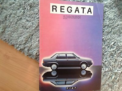 Fiat Regatta   Brochure  1983