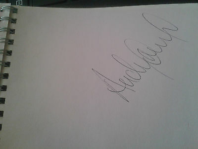 Andy Nichol Rugby Scottish Internationalist HAND SIGNED page