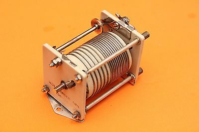 MULTRONICS EF JOHNSON 229-201 10uH VARIABLE ROLLER INDUCTOR COIL - ANTENNA TUNER