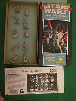 Heroes Of The Rebellion - 40301 - 28Mm Star Wars Box Set - West End Games