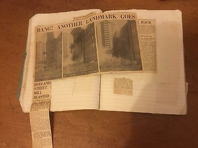 Vintage ROCHDALE Lancashire NEWSPAPER cuttings Loads of pictures Observer 1970s