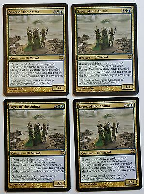 4x Sages of the Anima - x4 MTG