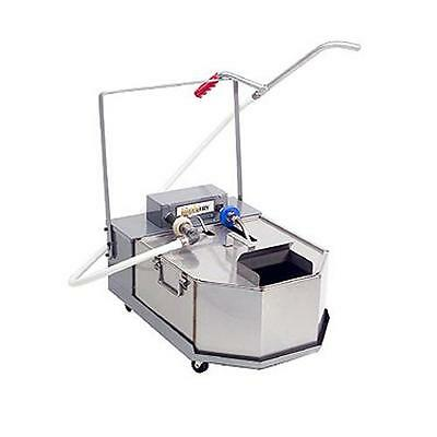 Anets - FFM80 - Low Profile Mobile Deep Fryer Oil Filter