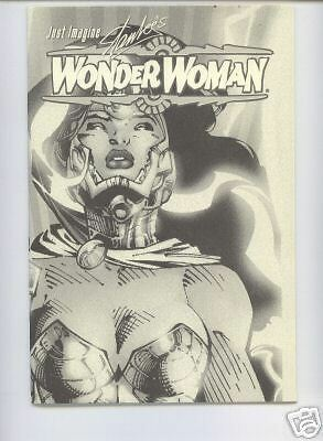 Just Imagine WONDER WOMAN deutsch MUSEUM-VARIANT  lim.500 Ex. signed JIM LEE
