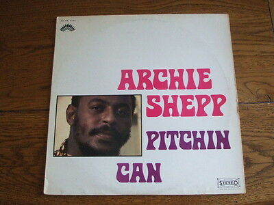 Archie Shepp - Pitchin Can - French America - Lp -30 Am 6105