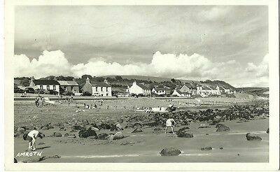 Amroth View From Beach 1963 Squibbs Studios Tenby Real Photo Postcard