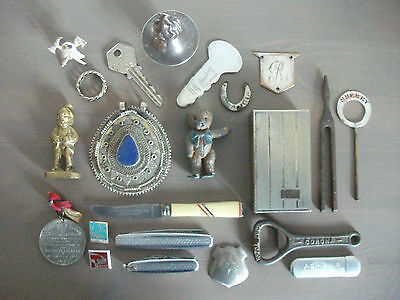 Eclectic Group of Small Metal Collectabes ~ Some Vintage ~ Coronation Etc